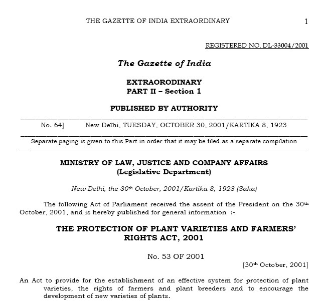 PLANT BREEDER RIGHTS PDF DOWNLOAD